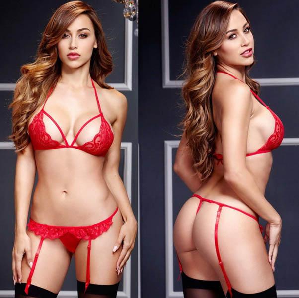 Sexy Lace Bra Set 10 3040-R