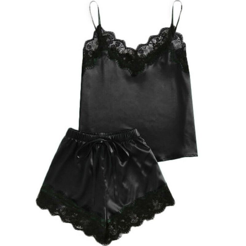 Satin Set Black MY-YN812300-Black