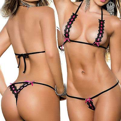 Sexy Lace Set Black 441372645YC21