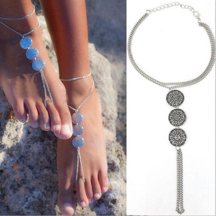 Ankle Bracelet Silver 460362427