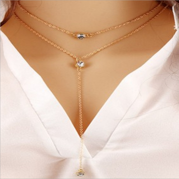 Necklace Gold MY BZ200124-G