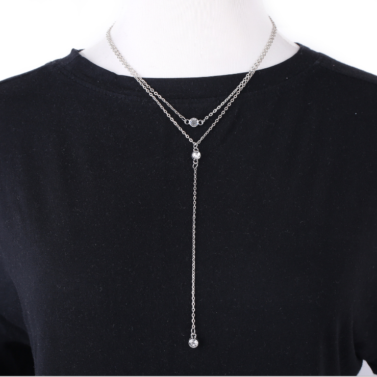 Necklace Silver MY BZ200124-S