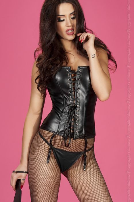 Chilirose Corset and String