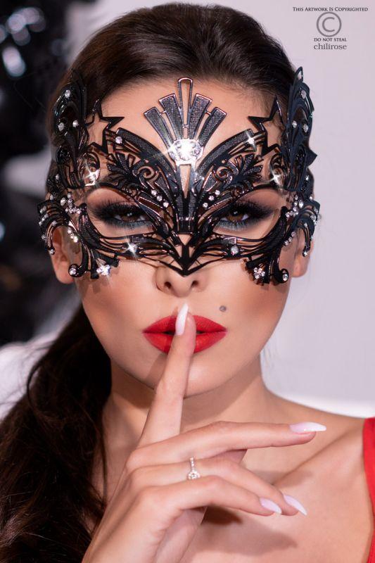 Chilirose Black Mysterious Chili Mask