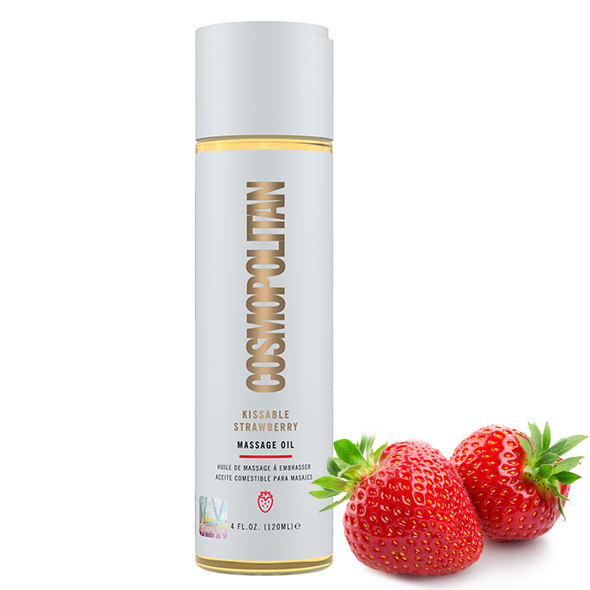 Cosmopolitan Kissable Massage Oil Strawberry 120 ml
