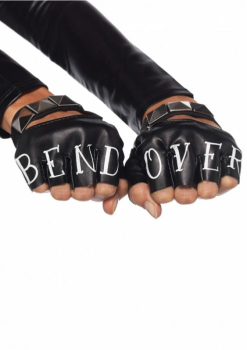 Leg Avenue Bend Over Fingerless Gloves LG2631