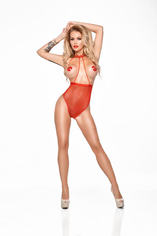 Me Seduce Lucy Body Red MS B0164-02