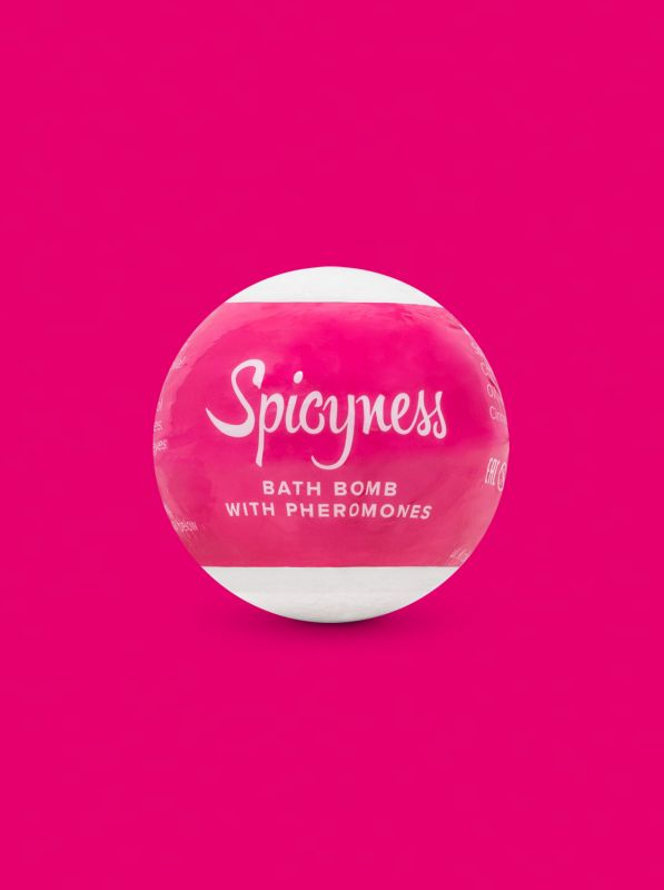 Obsessive Bath bomb with pheromones Spicy