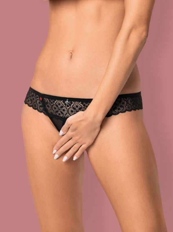 Obsessive Shibu open thong black
