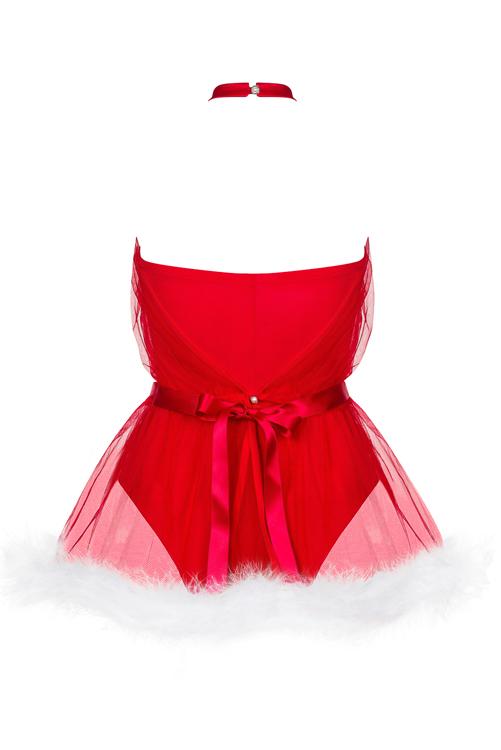 Obsessive Santastic dress red OB2911
