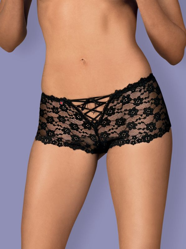 Obsessive Letica shorties - MINI black