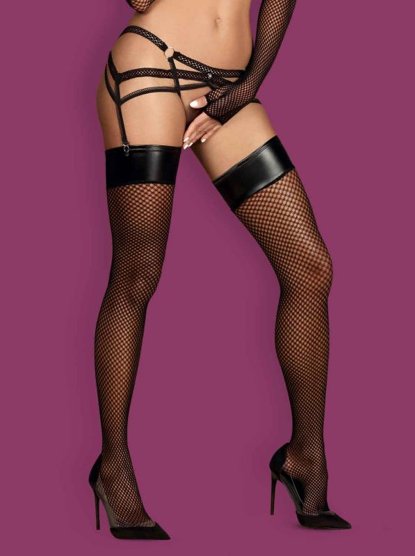 Obsessive Darkie stockings black