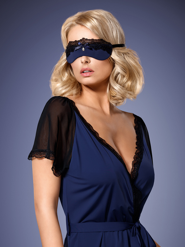 Obsessive 825-ACC-6 mask navy blue