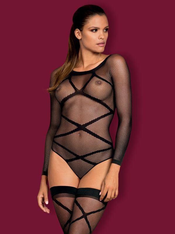 Obsessive Bodystocking G320 black