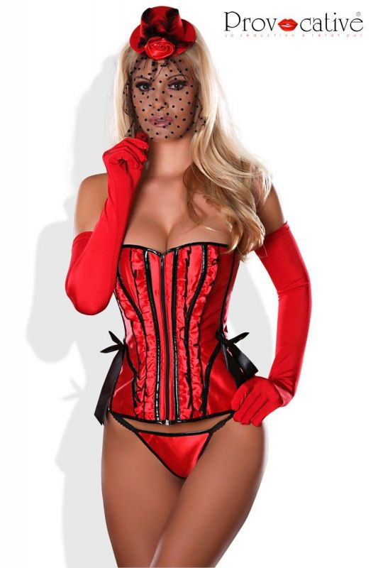 Provocative Gloves red