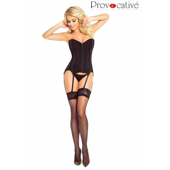 Provocative Corset Black PR 4888