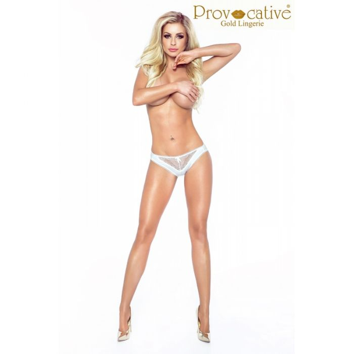 Provocative Candymoon Thong White