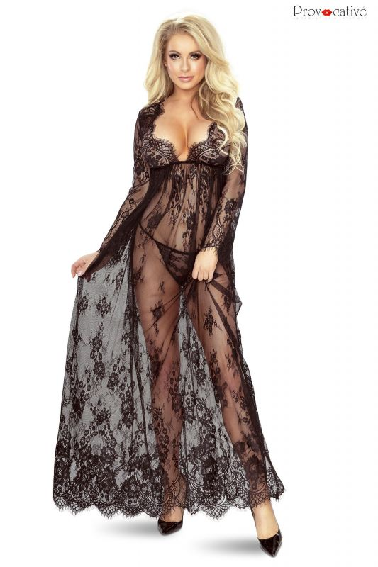 Provocative So Elegant Gown Black
