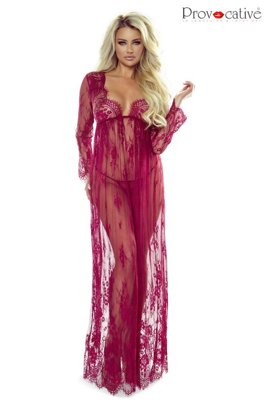 Provocative So Elegant Gown Bordeaux
