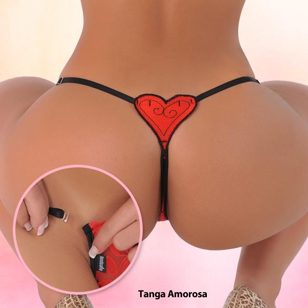 Sensualle Tanga Amorosa Red SL-0241