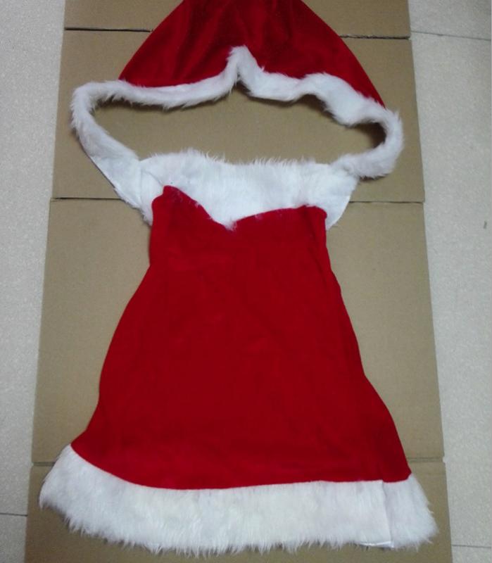 Sexy Christmas Velvet Babydoll MY-XS99110
