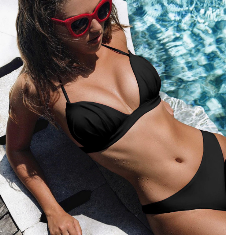 Brazilian Bikini Black MY YN200207-B