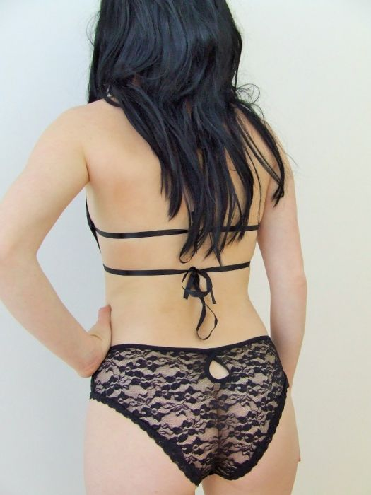 Black Lace Teddy SC4073