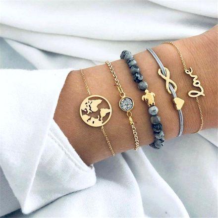 5 Bracelet Gold