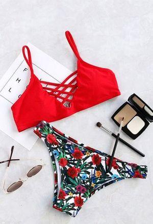 Brazilian Bikini Red MY-83031