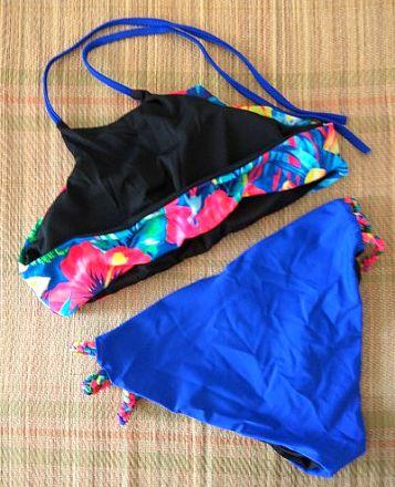 Colourful Floral Bikini 10-3395