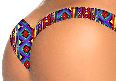 Bikini Bottom Colourful 10-3447-BX-VRS