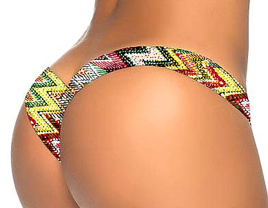 Bikini Bottom Colourful 10-3447-VL-VRS