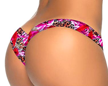 Bikini Bottom Colourful Floral 10-3447-HB-VRS