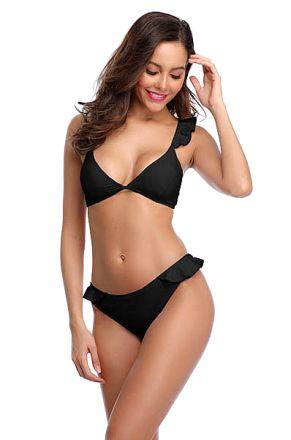 Sexy Bikini Brazil Black 103510-B