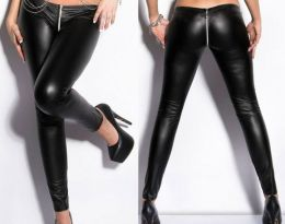 Faux Leather Leggings 101160