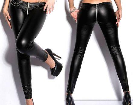 Faux Leather Leggings 101160