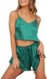 Satin Set Green MY-YN2005117-103047-G
