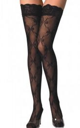 Net Stockings with Lace 20-B2018