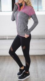Sporty Black Leggings MY-26012