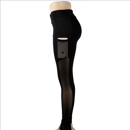 Sporty Black Leggings MY-26013