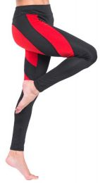 Heart Red/Black Leggings MY 26076