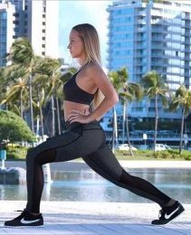 Sporty Black Leggings MY-27065