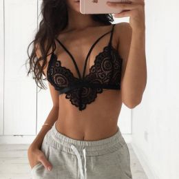Sexy Lace Bra Set Black 3026