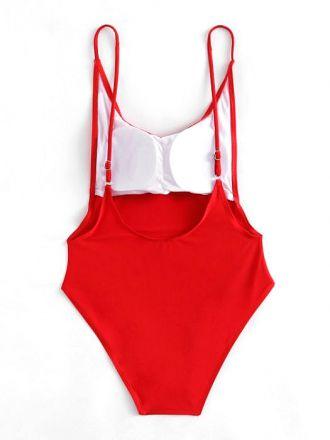 Monokini Red 4023479-R