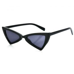 Triangle Eye Sunglasses Black 402-6281-BL
