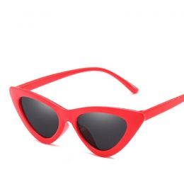 Cat Eye Sunglasses Red 487-8213-Red