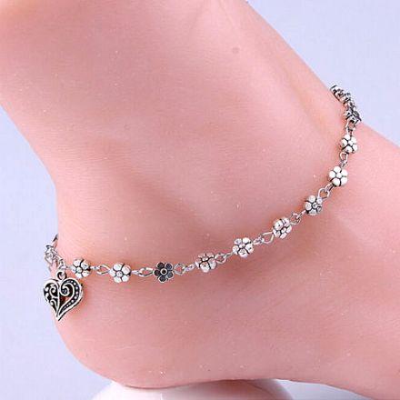 Ankle Bracelet Silver 4543226