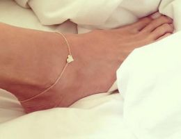 Ankle Bracelet Gold 46036243