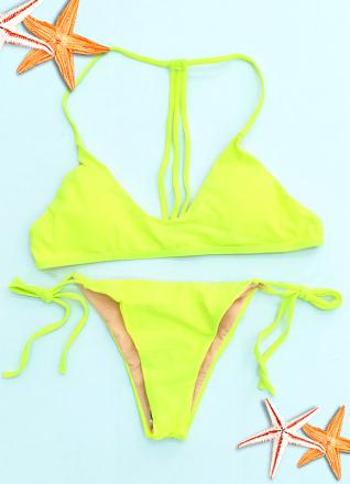 Fluo Brazilian Bikini Green MY YN195016