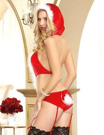 Sexy Santa Teddy Red  MY XS6646